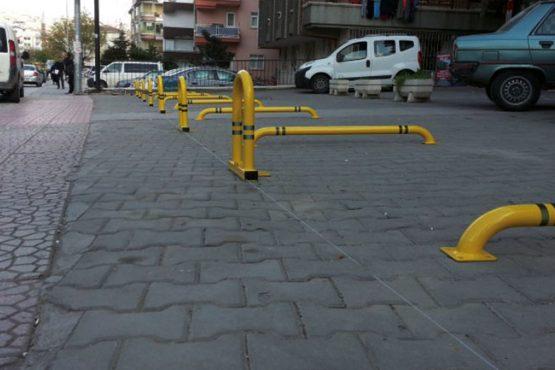 kişisel park bariyeri